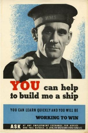 WW2 GB You can help to build me a ship you can learn quickly and you will be working to win