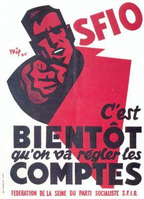 France 1956 SFIO Legislatives du 2 janvier 1956 bis