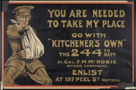 WW1 Canada Needed to Take My Place