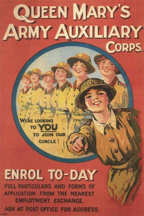 WW1 GB 1917 Women's Army Auxiliary Corps