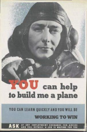 WW2 GB You can help to build me a plane you can learn quickly and you will be working to win