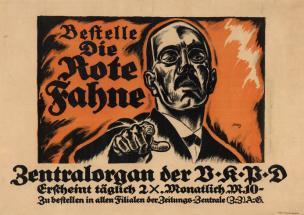Allemagne 1921 Die rote Fahne 1
