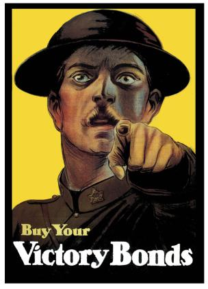 WW1 Canada 1917-18 Buy your Victory