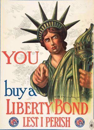 WW1 US 1917 Liberty-Bond-Charles Raymond Macauley