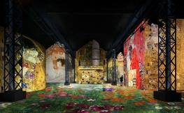 Gustav Klimt à l' Atelier des lumières