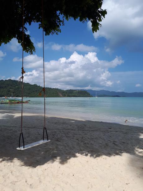 Plage de Port Barton aux Philippines
