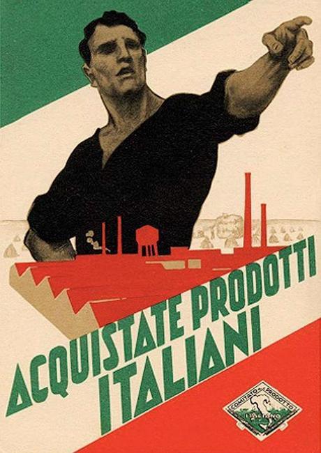 Italie 1930 Acquistate prodotti italiani