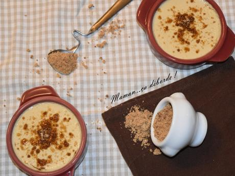 Crème au sucre complet de canne