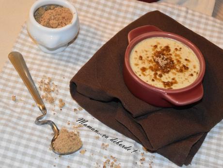 Crème aux oeufs au sucre muscovado