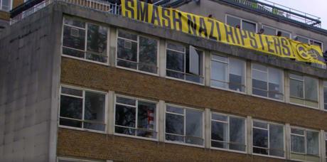 Génération Identitaire ridiculisée à #Londres #GenerationIdentity