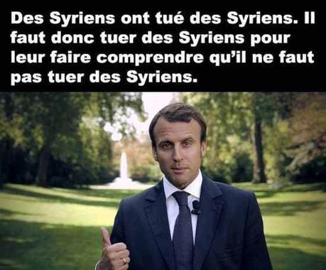 Jupiter Macron, un chef de guère