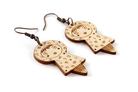 https://www.etsy.com/listing/586624796/tattooed-doll-earrings-lasercut-maple
