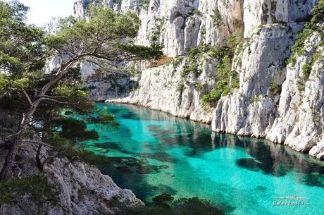 marseille, calanques, eaux turquoises