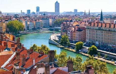 Lyon, vieux lyon, parc de la tête d'or