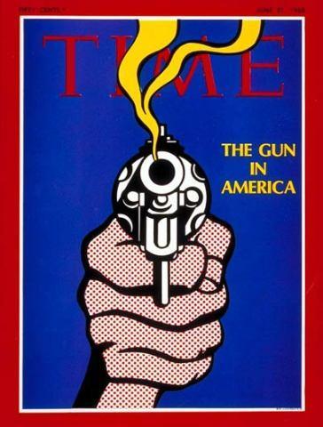 Lichtenstein, Roy The Gun in America June 21, 1968