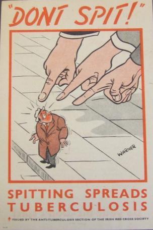 Don t spit 1940-1950 Irish Red Cross