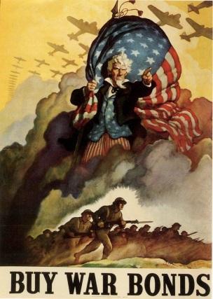 WW2 USA 1942 Buy war bonds