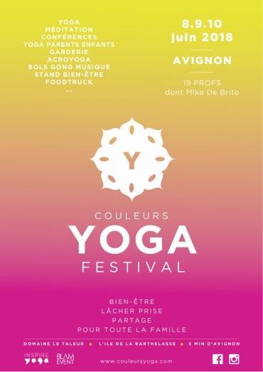 Avignon propose son 1er Festival de Yoga du 8 au 10 juin