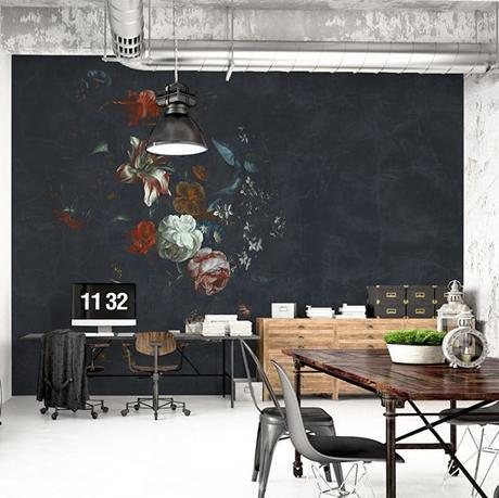 Collectif Project Inside /  Les fleurs envahissent nos murs /