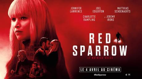 [Cinéma] Red Sparrow : Un excellent film d'espionnage !