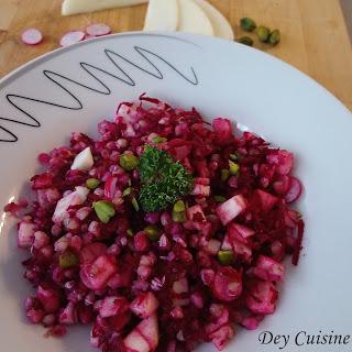 Salade de sarrasin à la betterave