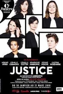 Justice de Samantha Markowic, mise en scène de Salomé Lelouch