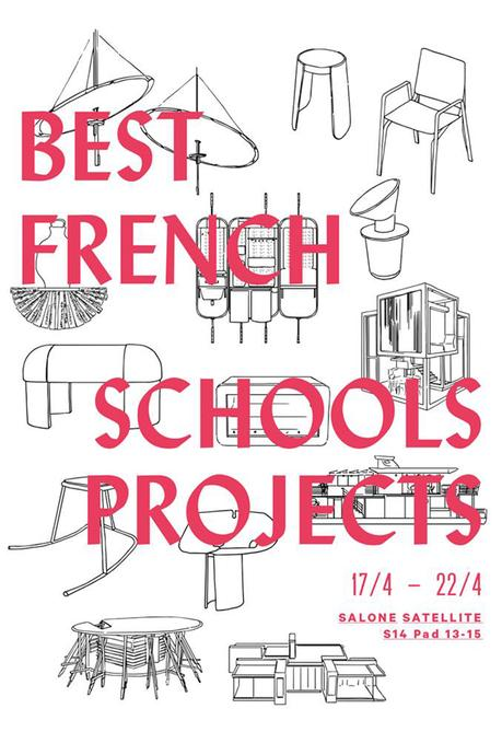 Milan Design Week | Le French Design – Best French Schools Projects par le VIA