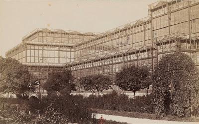 Le palais de verre de Munich vers 1890- Glaspalast München 1890