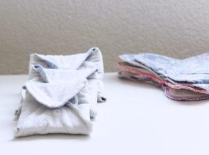 Hygiène intime : les serviettes hygiéniques lavables