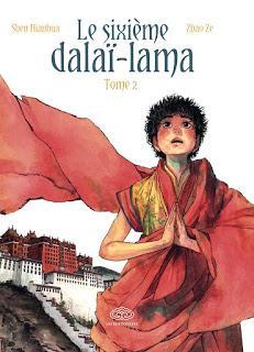 Le sixième Dalaï-Lama - tome 2 aux éditions Fei