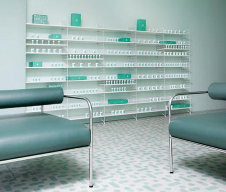 Une pharmacie à la décoration créative, c'est possible !