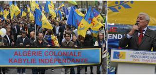 Marche à Paris pour l'indépendance de la Kabylie : Félicitations du président Ferhat Mehenni à la diaspora kabyle