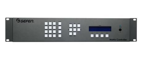 gefen matrix controller EXT-CU-LAN front