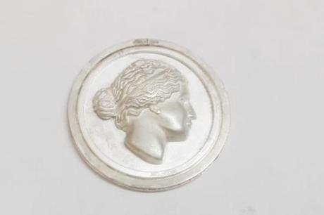 medaille argent personnalisée