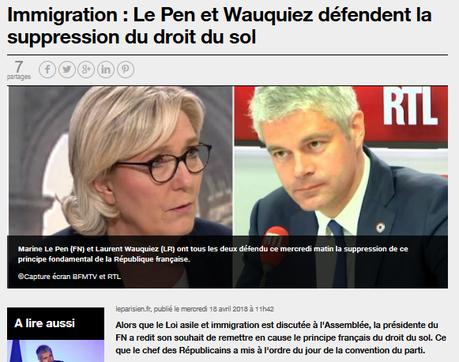 #wauquiez double le #FN par l'extrême-droite #FNLR