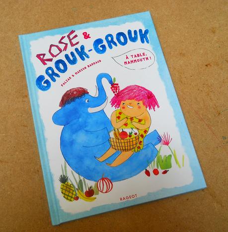 ça y est le dernier tome de la série Rose et Grouk-Grouk ...