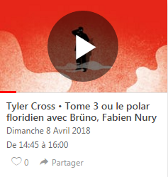 Tyler Cross braque Quais du Polar