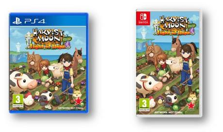 Harvest Moon Lumière d'Espoir Edition Collector ps4 switch