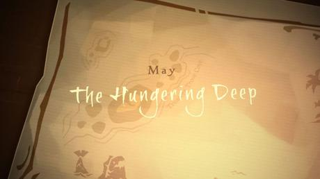 Mise à jour Hungering Deep Sea of Thieves