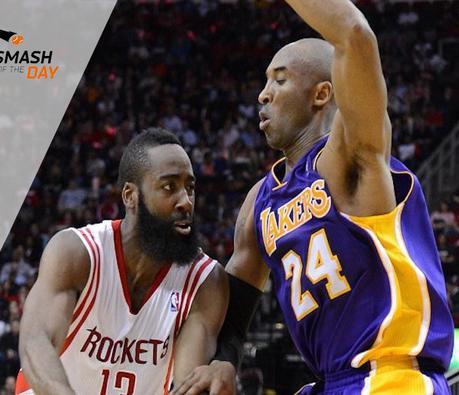 Pour Kobe, le MVP c'est James Harden