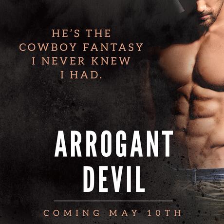 Cover Reveal : Découvrez le résumé et la couverture de Arrogant Devil de RS Grey