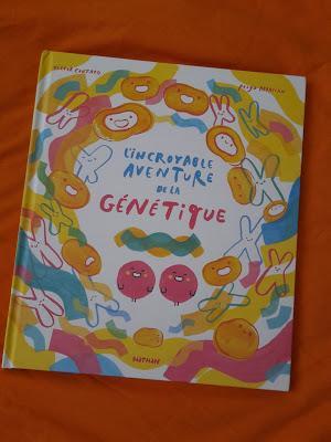 L'incroyable aventure de la génétique - Victor Coutard - Illustré par Pooya Abbasian