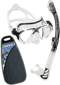 Masque et tuba pour les voyages plongée et snorkeling