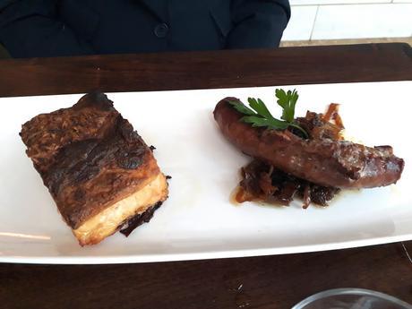 Saucisse de l'Aveyron, gratin dauphinois © Gourmets&Co