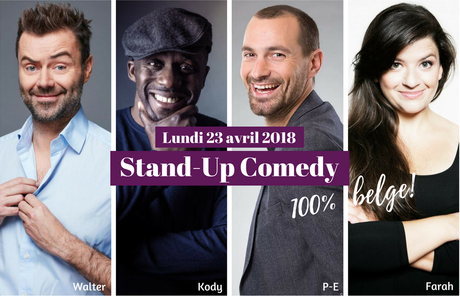 Stand-Up Comedy belge 2018