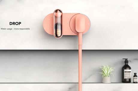 Interview : Pascal Grangier présente Drop, un concept de robinet de douche