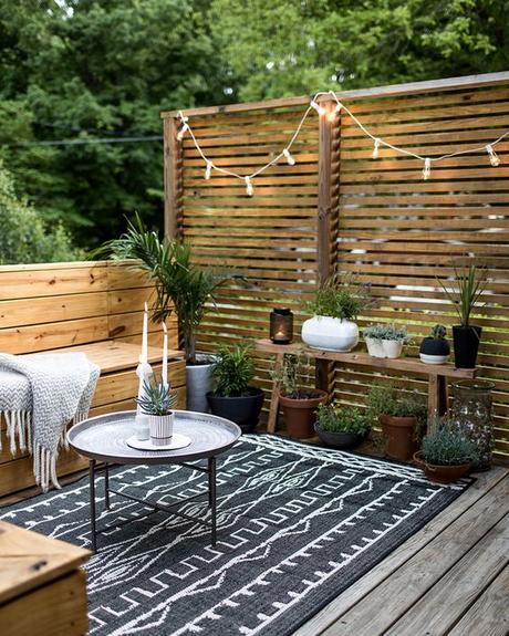 Concocter un balcon cosy | elephant in the room