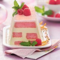 Tirami'orange aux biscuits roses