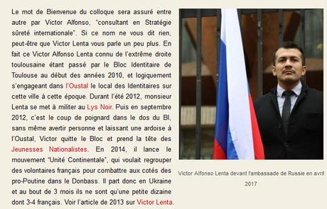 le porte-parole défense et international de @JLMelenchon en charmante compagnie… de néo-nazis #LFI