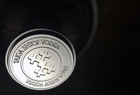 Le packaging Taiga Shtof d'aussi bon goût que sa Vodka